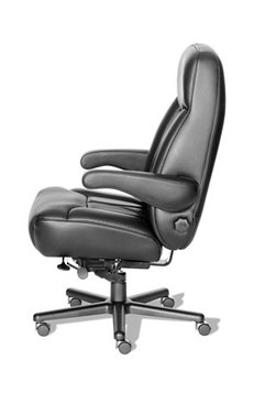Odyssey Black Leather Office Chair